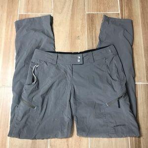Exofficio Women's Pants Gray Sz 4